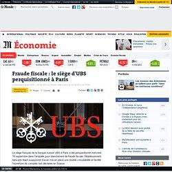 Fraude fiscale : le siège d'UBS perquisitionné à Paris