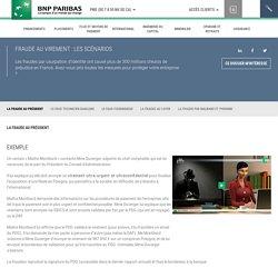 Fraude au virement : les scénarios - BNP Paribas