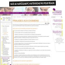Fraudes aux examens – Bac Général – Votre examen