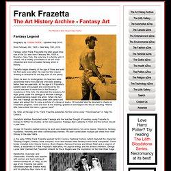 Frank Frazetta - Fantasy Artist