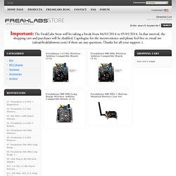 FreakLabs Store, Open Source Wireless Sensor Networks