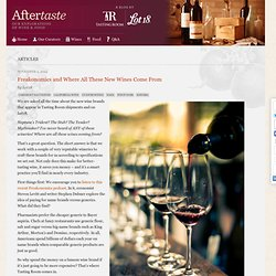 Freakonomics and Where All These New Wines Come From - Aftertaste by Lot18Aftertaste by Lot18