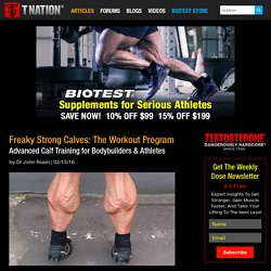 Freaky Strong Calves: The Workout Program