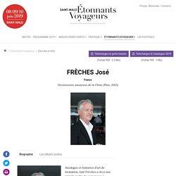 FRÈCHES José - Etonnants Voyageurs