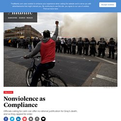 As Riots Follow Freddie Gray's Death in Baltimore, Calls for Calm Ring Hollow