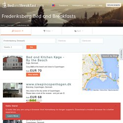 38 Frederiksberg, Inns, B&Bs, and Romantic Hotels