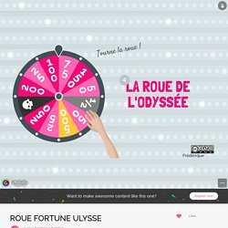 ROUE FORTUNE ULYSSE by Frédérique Barbillon on Genially