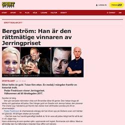 Peder Fredricson är Jerringprisets rättmätiga vinnare