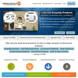 Free Access to over 1,503,428 dropship products