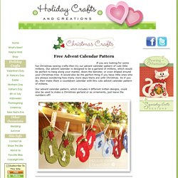 Free Advent Calendar Pattern