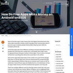 How Do Free Apps Make Money on Android and iOS