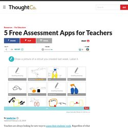 5 Free Assessment Apps for Teachers
