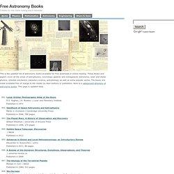 Free Astronomy Books