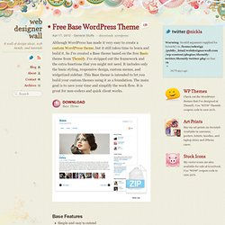 Free Base WordPress Theme