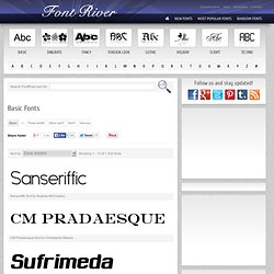 Download fonts at FontRiver.com