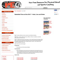 Free Basketball One on One drill 7