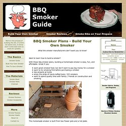 Free BBQ Smoker Plans!