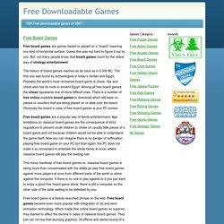 Free Board Games