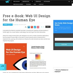 Free e-Book: Web UI Design for the Human Eye