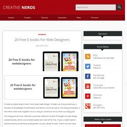 20 Free E-books For Web Designers