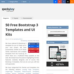 50 Free Bootstrap 3 Templates and UI Kits