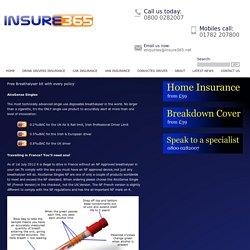 Free Breathalyser - Insure 365