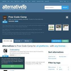 Free Code Camp Alternatives