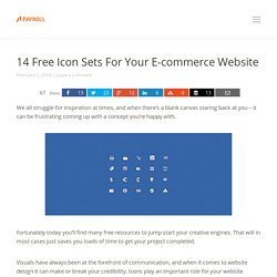 14 free icon sets for your e-commerce website - PAYMILL Blog
