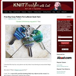 Free Key Cozy Pattern