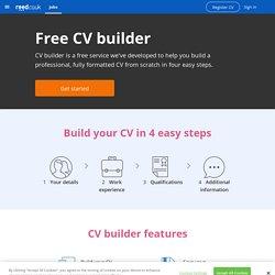 Free CV builder