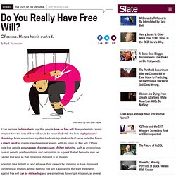 Free will debate: What does free will mean and how did it evolve?