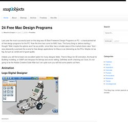 24 Free Mac Design Apps