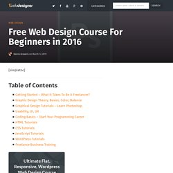 Learn Web Design and Web Development 101: Ultimate Course