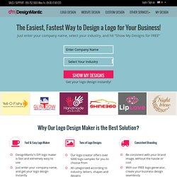Créateur de logo et de design gratuit par DesignMantic.com