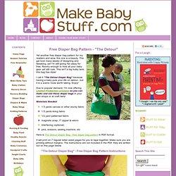 Free Diaper Bag Pattern