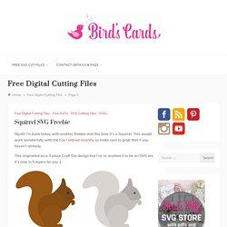 Free Digital Cutting Files – Page 2