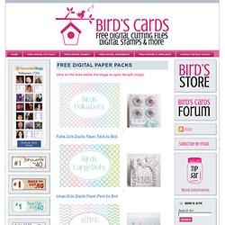 Free Digital Paper Packs