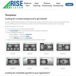 Presentations | RiseVision - Part 2
