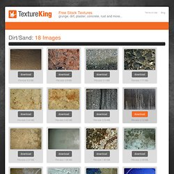 Free » Dirt, Sand Textures from TextureKing
