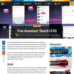 Free download: Sketch UI Kit