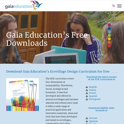 Free downloads – GaiaEducation.org