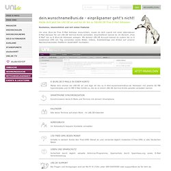 Free E-Mail auf UNI.DE