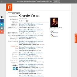 Free ebooks by Giorgio Vasari