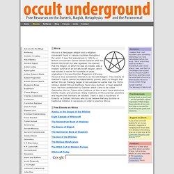 Free Ebooks on Wicca