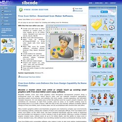 Icon Editor. Free Icon Maker Software.