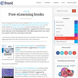 Free eLearning books