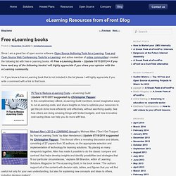 eFront: Free e-Learning books