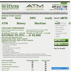 Where to Buy Federal Credit Union ATM