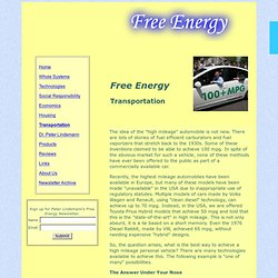 Free Energy | Transportation