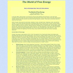 World of Free Energy